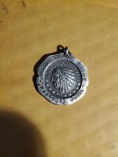 RARE Vintage Sterling Indoor TrackGames sports medal 1920s Hartford, Conn.18.6 g
