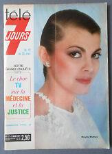 ►TELE 7 JOURS 877/1977- MIREILLE MATHIEU - JEAN PIERRE CASSEL - STEVE MACQUEEN