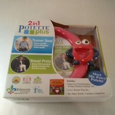 Kalencom 2 in 1 Potette Plus Mr Petey Potette Portable Potty & Trainer Seat