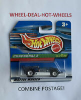 Hot Wheels Chaparral 2 (2000 Treasure Hunts 7/12) with Real Riders - VR - HTF!