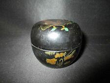 ancienne boite en carton laqué Japon XIX ème