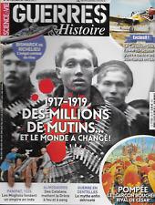 SCIENCE ET VIE GUERRE ET HISTOIRE N° 36 / 1917-1919 DES MILLIONS DE MUTINS