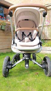 Maxi-Cosi Nova (4-Wheeled) Pushchair & Oria Carry Cot