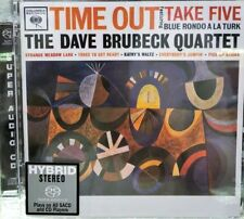 DAVE BRUBECK QUARTET - TIME OUT  (SACD) MADE IN EU