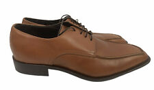 Via Spiga Italy Men's Size 11 Leather Dress Shoes Lace Up Brown Nice!