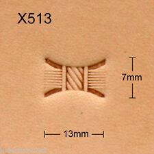 Punziereisen, Lederstempel, Punzierstempel, Leather Stamp, X513 - Craft Japan