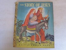 1946 The Story of Jesus  A Little Golden Book by Simon & Schuster