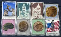 Luxembourg 1984 Mi. 1104-1111 Neuf ** 100% Drapeau des Jeux olympiques, monumen