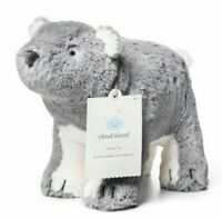NWT Target Gray White Polar Bear Plush Cloud Island Stuffed Baby Lovey Toy