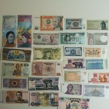 More details for 200 different assorted world banknotes collection - uncirculated