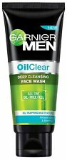 Garnier Men Oil Clear Face Wash 100 gm Free Ship