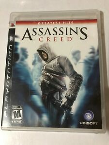 ASSASSIN'S CREED PLAYSTATION 3 Greatest Hits 2007 Rated M