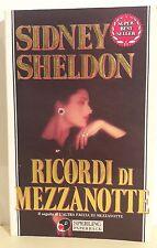 LIBRO SIDNEY SHELDON - RICORDI DI MEZZANOTTE - SPERLING 1993