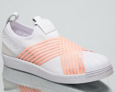 adidas Originals Women's Superstar Slip On New Lifestyle Shoes 2018 White D96704