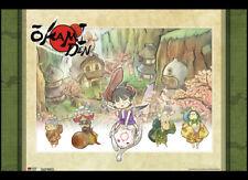 *Legit Poster* Okami Den Game Chibiterasu Carries Kuni Key Art Wallscroll #60788