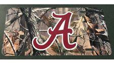 Alabama Camoflauge License Plate Metal Camo Car Tag New