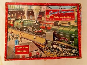 VINTAGE JIGSAW - MAIN LINE TERMINUS no 66  405  pieces complete checked