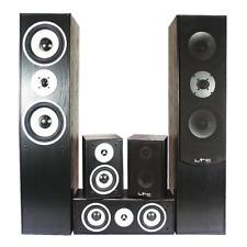 LTC Audio Surround Sound Home Cinema Hi Fi 5 Speaker LTC Set 3x50W 2x180W 1150W