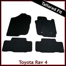 Toyota RAV4 Mk3 / XA30 2006-2012 Tailored Fitted Carpet Car Floor Mats BLACK