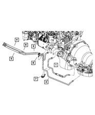 Genuine Mopar Oil Cooler Pressure Valve 50010185AC