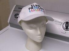 White EPE Licensed Elvis Presley 35th Anniversary Commemorative Baseball Cap Hat