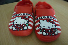 CHILDS  HELLO KITTY OFFICIAL SANRIO - JUJU SANDELS - SIZE 9 - GREAT QUALITY LOOK