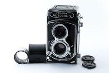 Near Mint MINOLTA AUTOCORD 6x6 TLR Film Camera 75mm w lens from japan FedEx OK!
