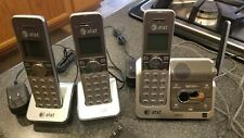At&T Cl82351 Hd Cordless Phone & Answering System w/ 3 Handsets, Bases & Power