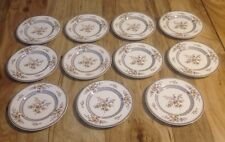 11 MIKASA BREAD & BUTTER PLATES CHIPPENDALE PATTERN DISCONTINUED