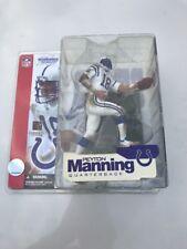 Peyton Manning McFarlane Series 4  White Jersey NIB Colts NFL FIGURE B4 MIP