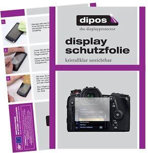 6x Schutzfolie für Panasonic Lumix G9 klar Displayschutzfolie Display Schutz