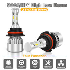 9004 HB1 1300W CREE LED Headlight Bulb Kit Offroad Driving For Ford Jeep 4WD SUV