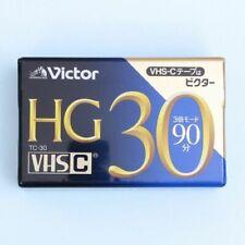 Victor HG TC-30 VHSC VHS-C Video Cassette Tape TC-30HGD
