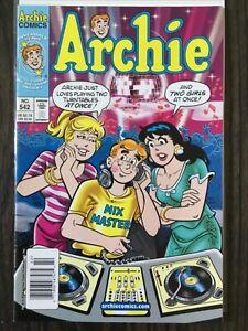 Archie Comics #542 - Rare Newsstand   Innuendo Cover   Archie Comics 2003