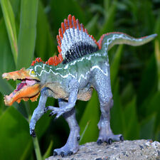 Large Movable Jaw Spinosaurus Solid Plastic Dinosaur Figure Toy Model Best Gift