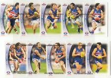 2006 Select AFL Champions team set  WESTERN BULLDOGS
