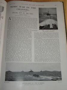 1901 Article (2 Pages) X Flotte Imitateur Battle Marines Etc