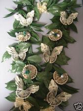 Hawaiian $16 Money Butterfly Flowers Luau Maile Lei