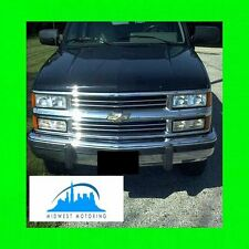 1988-1993 CHEVY CHEVROLET SILVERADO CHROME TRIM FOR GRILL GRILLE W/5YR WARRANTY