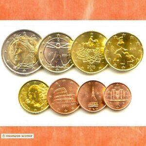 Kursmünzensatz Italien 2010 1c-2 Euro•Münze•KMS alle 8 Münzen Satz Eurosatz Set