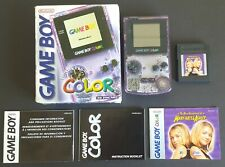 Nintendo Game Boy Color - Atomic Purple | Box, System, Manuals, & Game