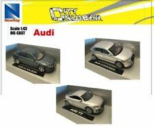 Articoli di modellismo statico grigi New-Ray per Audi