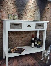 Tischkonsole Konsolentisch Beistelltisch Anrichte Landhaus Weiß Sideboard LV4055