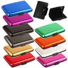 2 x RFID Blocking Debit & Credit Card Holder (colors may vary)