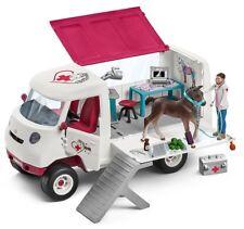 Schleich Pferde  42370 mobile Tierärztin mit Fohlen NEU OVP