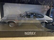 Ford Capri 2,8i 1983 Silber NOREV Sondermodell (182709) Nr. 142 von 150 1:18