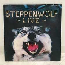 STEPPENWOLF / LIVE JAPAN ISSUE DOUBLE LP W/INSERT