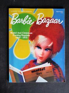 Barbie Bazaar Special Edition Mattel Christmas Catalog Reprint Magazine1969-1972