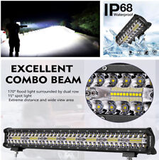 1x  LED Light Bar Fog Light Work Light IP68 Waterproof for Off-road,SUV,Pick up
