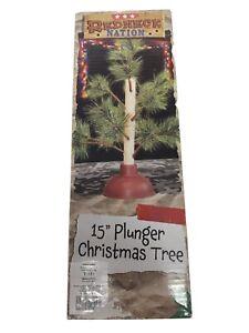 """Redneck Plunger Christmas Tree 15"""" By Redneck Nation, Jokes Gag Gift, Novelty"""
